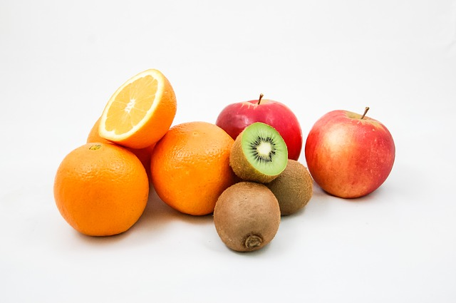 Orange-Kiwi-Brei mit Apfel